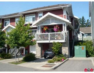 "Photo 1: 17 15168 36TH Avenue in Surrey: Morgan Creek Townhouse for sale in ""SOLAY"" (South Surrey White Rock)  : MLS®# F2915584"