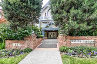 "Main Photo: 203 1537 CHARLES Street in Vancouver: Grandview Woodland Condo for sale in ""Charles Gardens"" (Vancouver East)  : MLS®# R2394813"