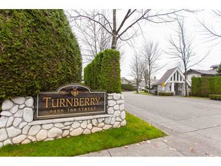 "Photo 2: 75 6488 168 Street in Surrey: Cloverdale BC Townhouse for sale in ""Turnberry"" (Cloverdale)  : MLS®# R2426262"