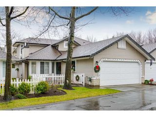 "Photo 1: 75 6488 168 Street in Surrey: Cloverdale BC Townhouse for sale in ""Turnberry"" (Cloverdale)  : MLS®# R2426262"