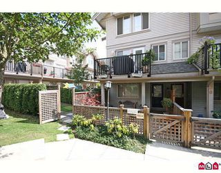 """Photo 1: 27 5388 201A Street in Langley: Langley City Townhouse for sale in """"THE COURTYARD"""" : MLS®# F2919869"""