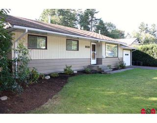 "Photo 1: 2839 WOODLAND Street in Abbotsford: Central Abbotsford House for sale in ""East Abby"" : MLS®# F2921747"