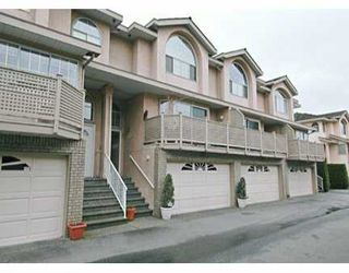 "Photo 1: 34 22488 116TH AV in Maple Ridge: East Central Townhouse for sale in ""RICHMOND HILL"" : MLS®# V580846"