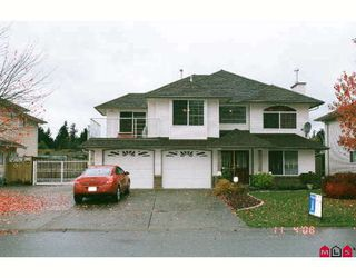 """Photo 1: 2787 BLACKHAM Drive in Abbotsford: Abbotsford East House for sale in """"MCMILLAN"""" : MLS®# F2831662"""