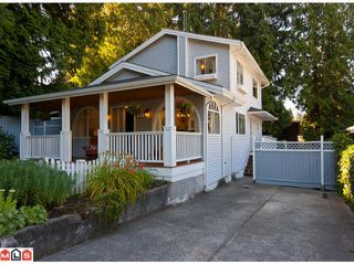Photo 1: 12720 15A Avenue in Surrey: Crescent Bch Ocean Pk. House for sale (South Surrey White Rock)  : MLS®# F1018716
