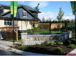 "Photo 1: 58 18199 70TH Avenue in Surrey: Cloverdale BC Townhouse for sale in ""Augusta at Provinceton"" (Cloverdale)  : MLS®# F1102526"