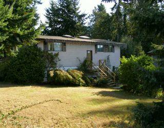 Main Photo: 5422 DERBY Road in Sechelt: Sechelt District House for sale (Sunshine Coast)  : MLS®# V613198