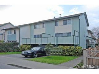 Photo 1: 1 26 Menzies St in VICTORIA: Vi James Bay Row/Townhouse for sale (Victoria)  : MLS®# 494290