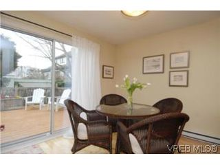 Photo 5: 1 26 Menzies St in VICTORIA: Vi James Bay Row/Townhouse for sale (Victoria)  : MLS®# 494290