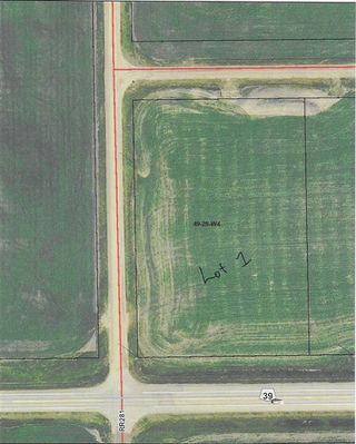 Photo 1: RR 281 HWY 39: Rural Leduc County Rural Land/Vacant Lot for sale : MLS®# E4179480
