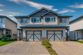 Main Photo: 55 2565 HANNA Crescent in Edmonton: Zone 14 House Half Duplex for sale : MLS®# E4210890