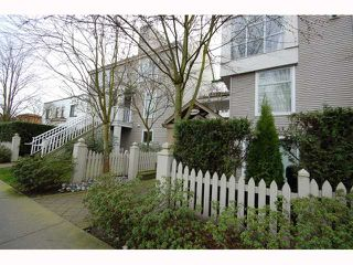"Photo 1: 3128 W 4TH Avenue in Vancouver: Kitsilano Townhouse for sale in ""THE AVANTI"" (Vancouver West)  : MLS®# V814495"