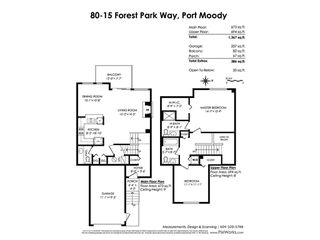 Photo 20: 80 15 FOREST PARK Way in Port Moody: Heritage Woods PM Townhouse for sale : MLS®# R2417570