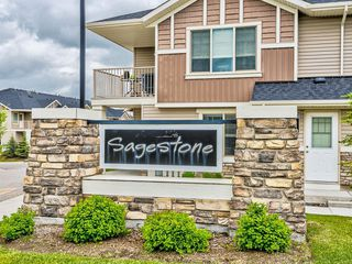 Main Photo: 306 250 SAGE VALLEY Road NW in Calgary: Sage Hill Row/Townhouse for sale : MLS®# C4302922