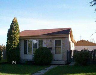Photo 1: 15 BLAIRMORE GARDENS in WINNIPEG: Transcona Single Family Detached for sale (North East Winnipeg)  : MLS®# 2615286