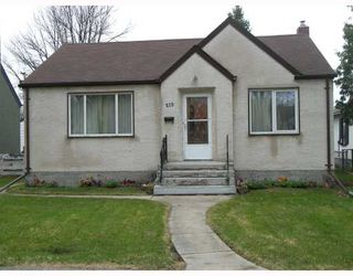 Photo 1: 270 CHELSEA Avenue in WINNIPEG: East Kildonan Residential for sale (North East Winnipeg)  : MLS®# 2909881