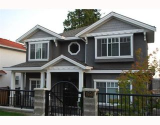 """Photo 1: 1950 E 64TH Avenue in Vancouver: Fraserview VE House for sale in """"FRASERVIEW"""" (Vancouver East)  : MLS®# V785070"""