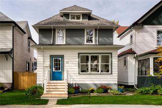 Photo 1: 126 Evanson Street in Winnipeg: Wolseley Residential for sale (5B)  : MLS®# 202017586