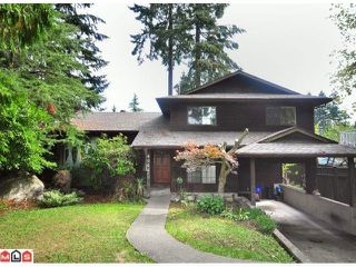 Photo 1: 6066 132A Street in Surrey: Panorama Ridge House for sale : MLS®# F1022824