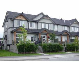 """Photo 1: 61 1055 RIVERWOOD GT in Port Coquiltam: Riverwood Townhouse for sale in """"MOUNTAIN VIEW ESTATE"""" (Port Coquitlam)  : MLS®# V545186"""