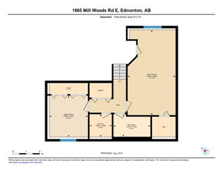 Photo 43: 1865 Mill Woods Road E in Edmonton: Zone 29 Townhouse for sale : MLS®# E4195490
