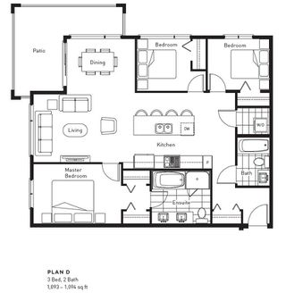 """Photo 4: 305 3581 ROSS Drive in Vancouver: University VW Condo for sale in """"VIRTUOSO"""" (Vancouver West)  : MLS®# R2467129"""
