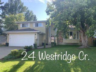 Photo 1: 24 WESTRIDGE Crescent in Edmonton: Zone 22 House for sale : MLS®# E4199716