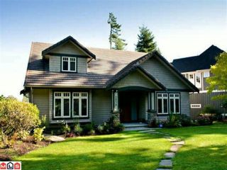 "Photo 1: 2838 SEMIAHMOO Trail in Surrey: Elgin Chantrell House for sale in ""SEMIAHMOO"" (South Surrey White Rock)  : MLS®# F1019360"