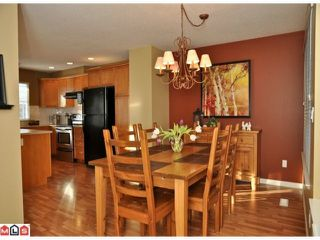 "Photo 5: 34 17097 64TH Avenue in Surrey: Cloverdale BC Townhouse for sale in ""Kentucky"" (Cloverdale)  : MLS®# F1100822"