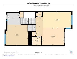 Photo 48: 5 9745 92 Street in Edmonton: Zone 18 Townhouse for sale : MLS®# E4187479