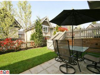 """Photo 10: 122 6747 203RD Street in Langley: Willoughby Heights Townhouse for sale in """"SAGEBROOK"""" : MLS®# F1008296"""
