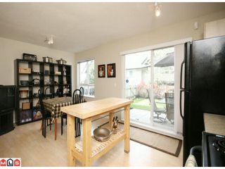 """Photo 5: 122 6747 203RD Street in Langley: Willoughby Heights Townhouse for sale in """"SAGEBROOK"""" : MLS®# F1008296"""