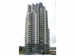 "Photo 1: 1301 288 UNGLESS Way in Port Moody: North Shore Pt Moody Condo for sale in ""THE CRESCENDO"" : MLS®# V825617"