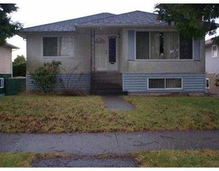 Photo 1: 6581 TYNE ST in Vancouver: Killarney VE House for sale (Vancouver East)  : MLS®# V570905