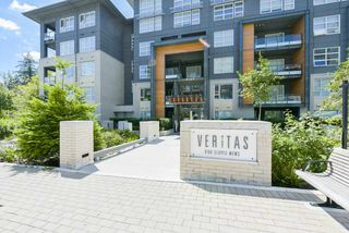 "Photo 1: 502 9168 SLOPES Mews in Burnaby: Simon Fraser Univer. Condo for sale in ""VERITAS"" (Burnaby North)  : MLS®# R2405882"