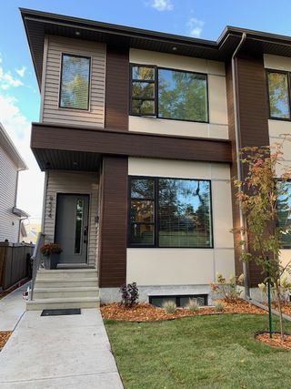 Photo 1: 9524 75 Avenue in Edmonton: Zone 17 House Half Duplex for sale : MLS®# E4180724