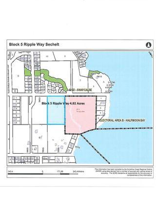 Photo 1: BLOCK 5 RIPPLE Way in Sechelt: Sechelt District Land for sale (Sunshine Coast)  : MLS®# R2476650