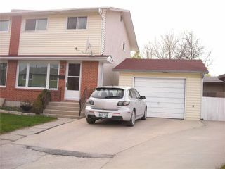 Photo 1: 272 Edelweiss Crescent in WINNIPEG: North Kildonan Residential for sale (North East Winnipeg)  : MLS®# 1007588
