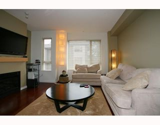 """Photo 2: 10 9229 UNIVERSITY Crescent in Burnaby: Simon Fraser Univer. Townhouse for sale in """"SERENITY"""" (Burnaby North)  : MLS®# V810035"""