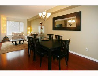 """Photo 4: 10 9229 UNIVERSITY Crescent in Burnaby: Simon Fraser Univer. Townhouse for sale in """"SERENITY"""" (Burnaby North)  : MLS®# V810035"""