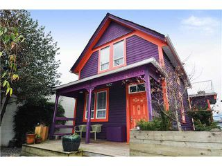 Main Photo: 35 W 6TH Avenue in Vancouver: Mount Pleasant VW House  (Vancouver West)  : MLS®# V867389