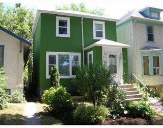 Photo 1: 635 GOULDING Street in WINNIPEG: West End / Wolseley Single Family Detached for sale (West Winnipeg)  : MLS®# 2912130