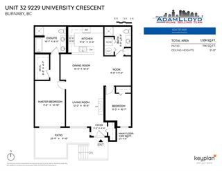 """Photo 20: 32 9229 UNIVERSITY Crescent in Burnaby: Simon Fraser Univer. Townhouse for sale in """"Serenity"""" (Burnaby North)  : MLS®# R2422939"""
