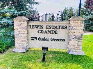 Photo 2: 203 279 SUDER GREENS Drive in Edmonton: Zone 58 Condo for sale : MLS®# E4168042