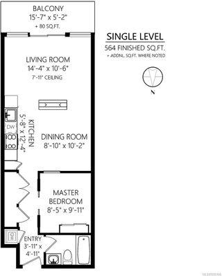 Photo 29: 413 528 Pandora Ave in : Vi Downtown Condo Apartment for sale (Victoria)  : MLS®# 850306