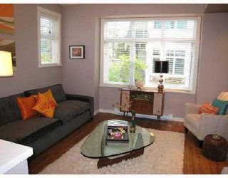 "Photo 7: 3858 WELWYN Street in Vancouver: Victoria VE Townhouse for sale in ""STORIES"" (Vancouver East)  : MLS®# V774783"