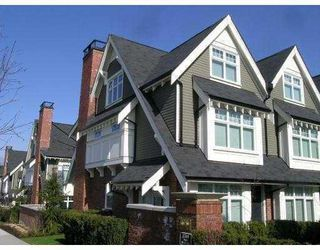 "Photo 1: 3858 WELWYN Street in Vancouver: Victoria VE Townhouse for sale in ""STORIES"" (Vancouver East)  : MLS®# V774783"