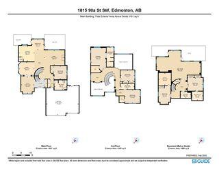 Photo 48: 1815 90A Street in Edmonton: Zone 53 House for sale : MLS®# E4216111