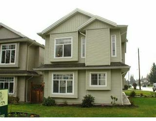 Photo 1: 3188 YORK ST in Port Coquiltam: Glenwood PQ House for sale (Port Coquitlam)  : MLS®# V573143