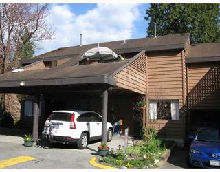 "Photo 1: 210 CARDIFF Way in Port_Moody: College Park PM Townhouse for sale in ""EASTHILL"" (Port Moody)  : MLS®# V762744"